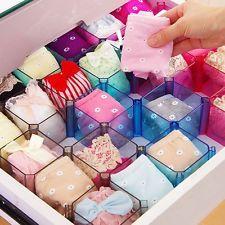 Aufbewahrungsboxen für Tie BH Einschubkorb Faltboxen Box Kunststoff Schublade