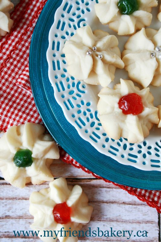 whipped shortbread cookies, add 1 teaspoon of vanilla when you cream together the butter and sugar