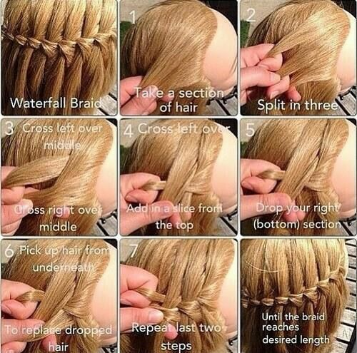 Waterfall Braid >Stylish Eve