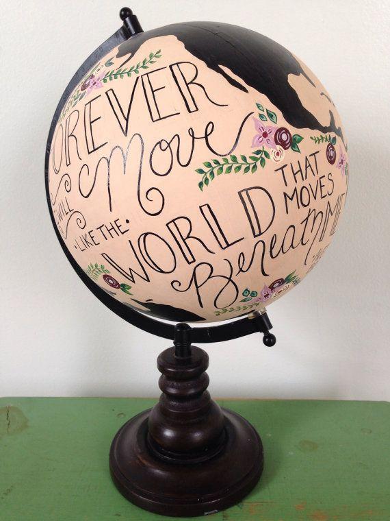 31 best diy globe terrestre images on pinterest painted globe globes and world globes. Black Bedroom Furniture Sets. Home Design Ideas