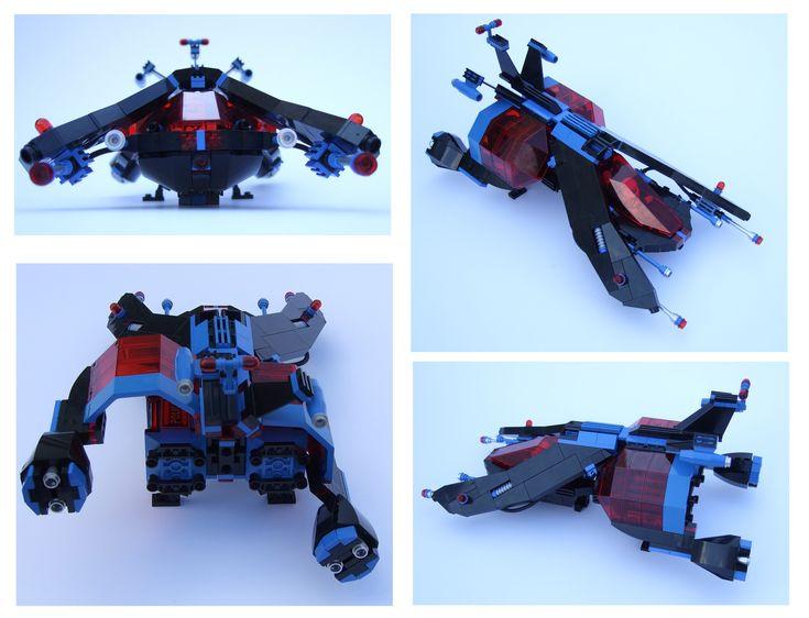 LEGO MOC   Space Police Ship