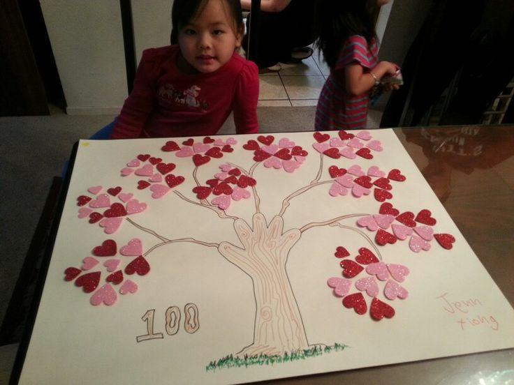 Jenn's 100 days of school poster