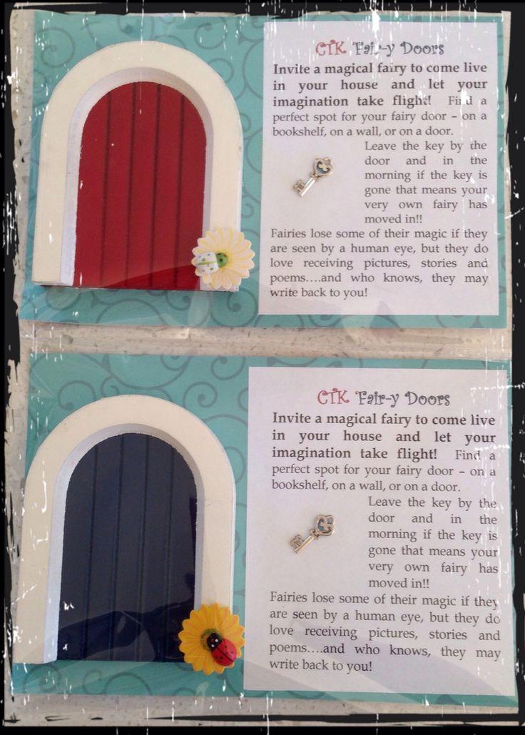 Fairy Doors for the school fair