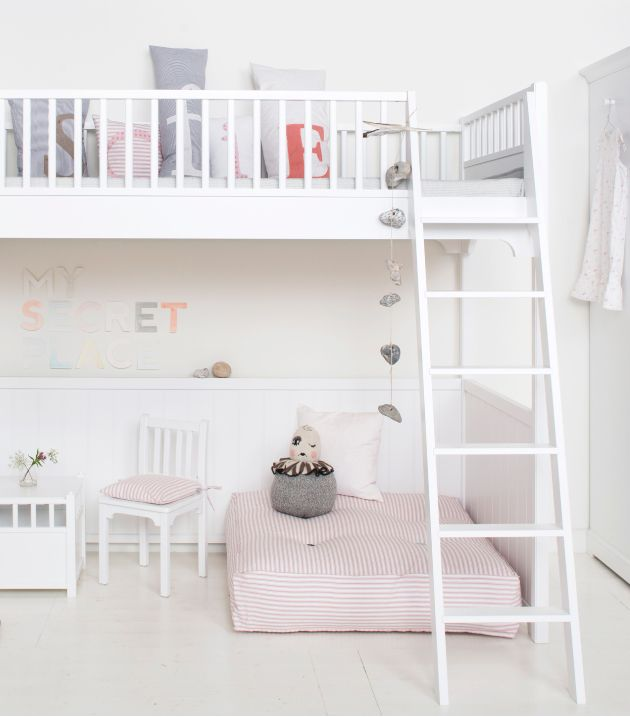 #loft bed #hoogslaper | blog.nordiskrum