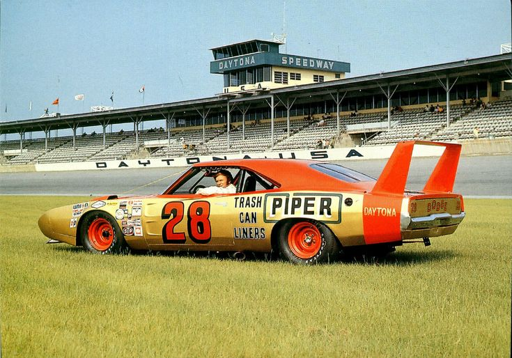 Fred Lorenzen's 1969 Dodge Daytona Charger. Classic.