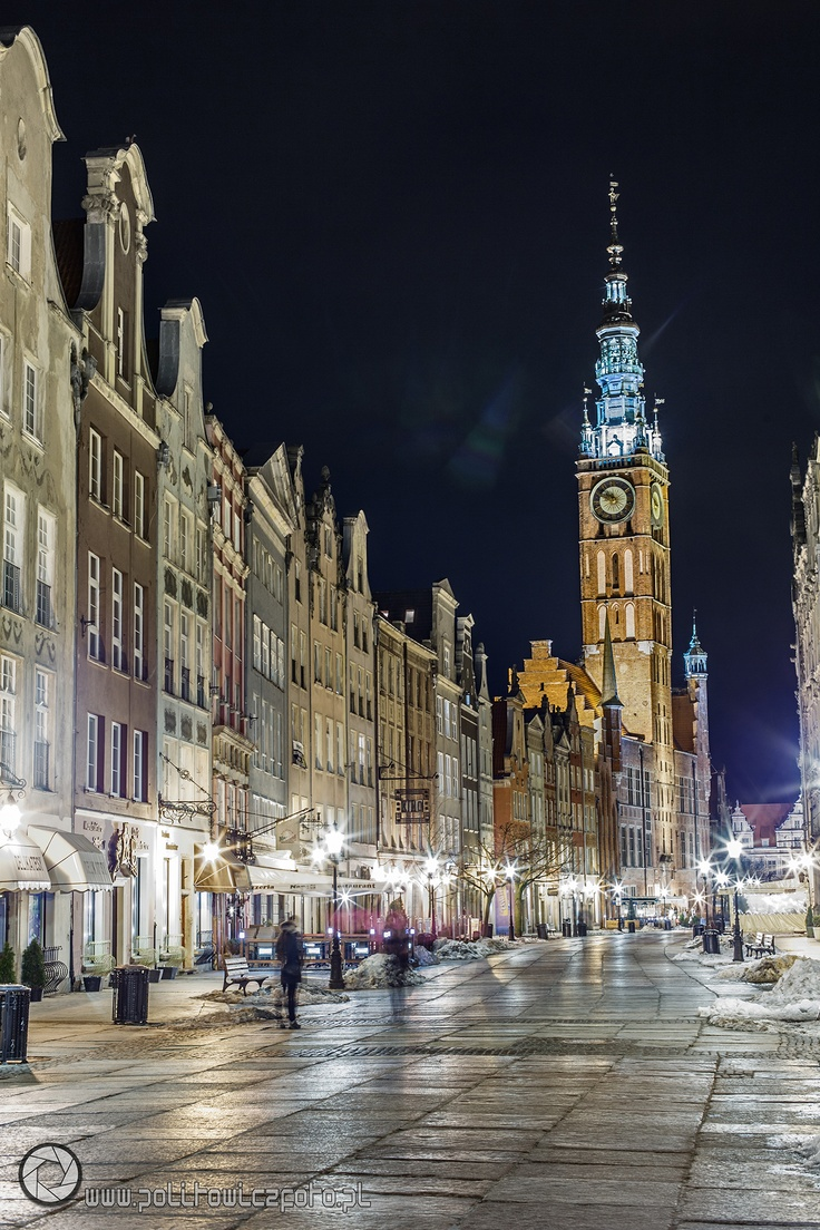 Gdansk at night | fot. Maciej Politowicz