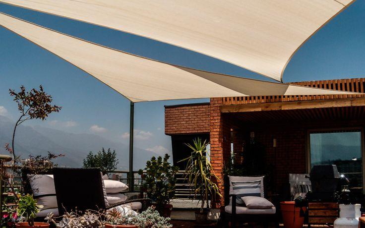 M s de 25 ideas incre bles sobre toldos vela en pinterest - Precios de toldos para patios ...