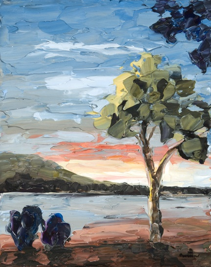 Tree At Sunset 10