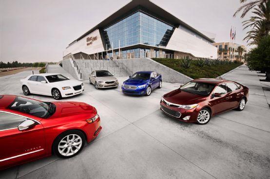 Comparison: The Big Test: 2013/2014 Full-Size Sedans Chevrolet Impala LTZ vs. Chrysler 300S vs. Ford Taurus SEL vs. Kia Cadenza vs. Toyota Avalon Ltd By Rory Jurnecka | Photos By Jessica Walker   Read more: http://www.motortrend.com/roadtests/sedans/1307_the_big_test_2013_2014_full_size_sedans/viewall.html#ixzz2YsQvCAxI