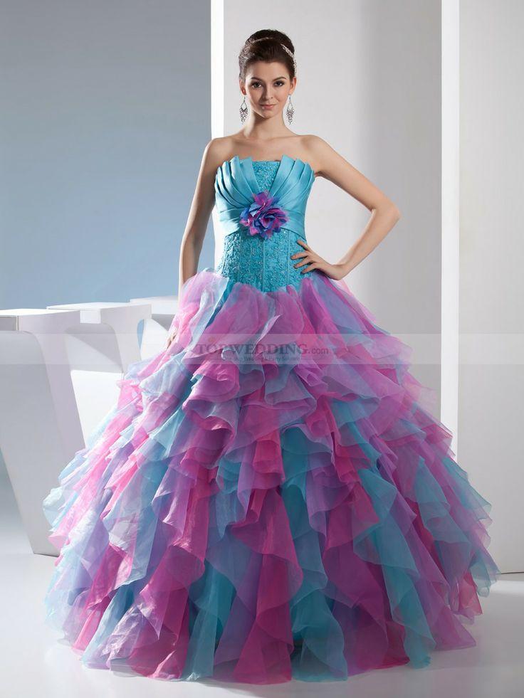 116 mejores imágenes en Quinceanera Dresses en Pinterest ...