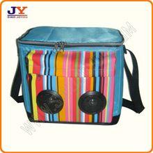 Speaker cooler bag with 2 speaker MP3