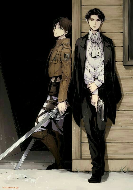 Levi... Hot and taller