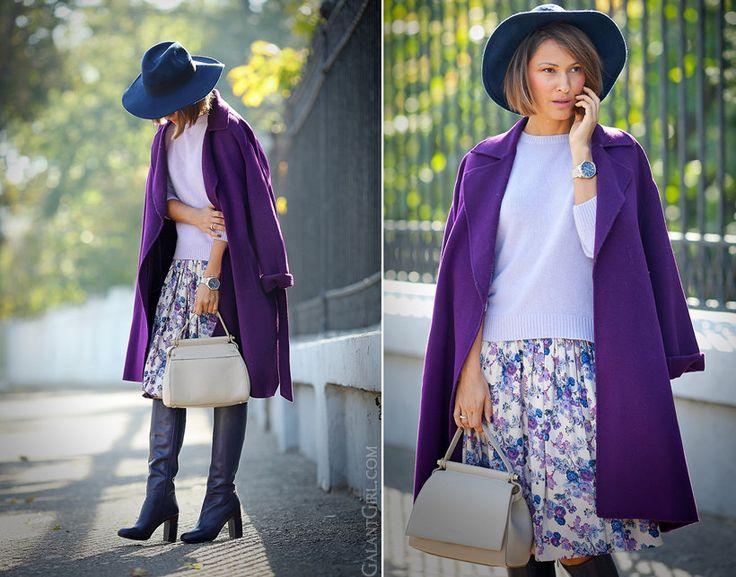 В стиле Ультрафиолет: 15 идей, как носить самый модный цвет 2018 года   Мода & стиль   Яндекс Дзен