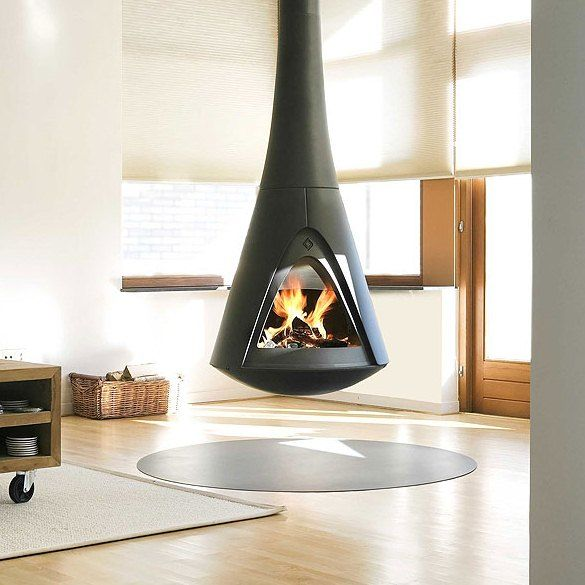 Great The Pharos Interior Is A Modern And Naturally Shaped Wood Burning Stove.  The Stove Is