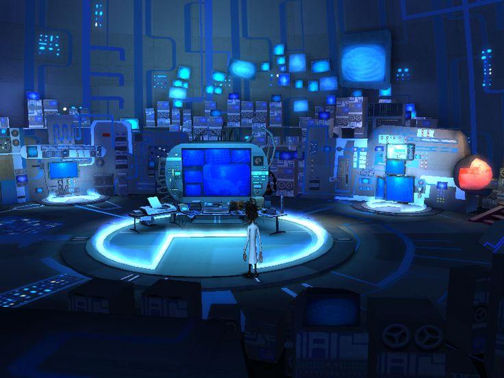 Screencap Of Game Play Flint Lockwood S Lab A Cloudy
