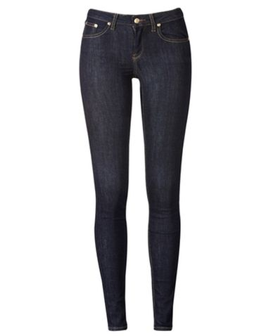Gina Tricot - Lisa superstretch jeans Dk blue (5970)