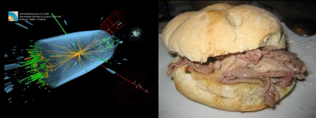 Che cosa hanno in comune il bosone di Higgs e un panino al lampredotto?!? :)
