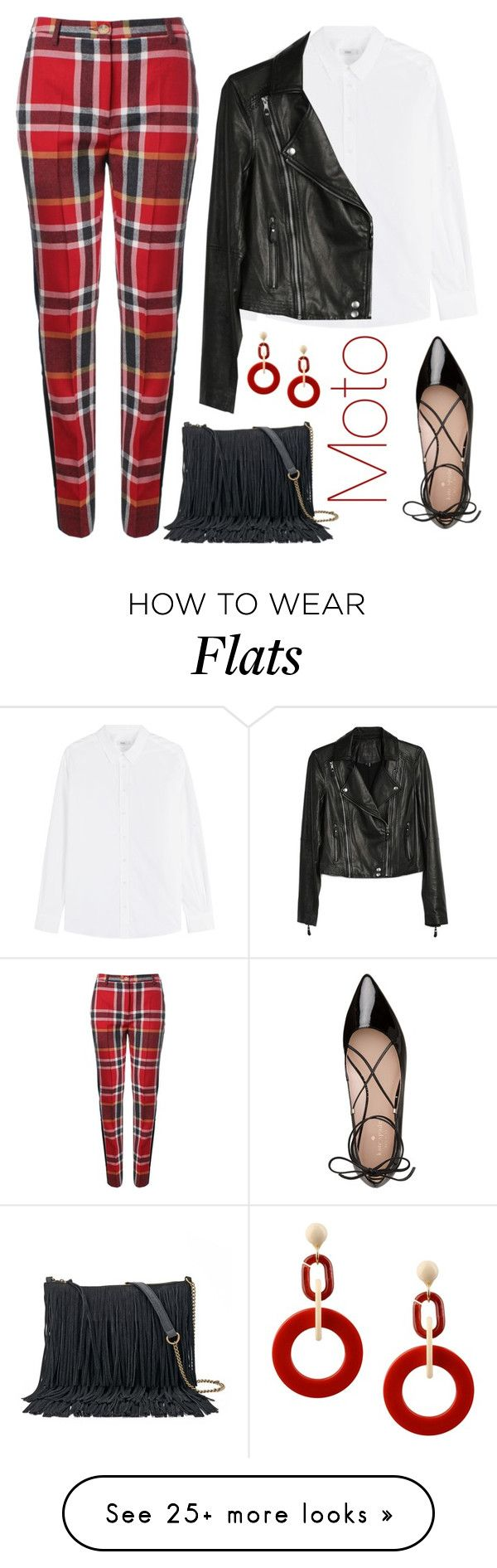 """""""Plaid."""" by emiam on Polyvore featuring Vivienne Westwood Red Label, Closed, Paige Denim, Kate Spade, SONOMA Goods for Life and Dettagli"""