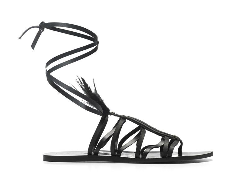 Pin for Later: See Every Single Piece From Kendall Jenner's First Mango Collection —and Get Ready to Shop  Tribal Spirit Sandals ($100)