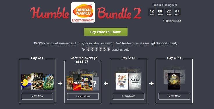 Humble Bundle, arrivano i titoli Bandai Namco Entertainment - Humble Bundle offre una nuova serie di giochi fortemente scontati Dopo il bundle dedicato ad Assassin's Creed e il Dirt Showdown in regalo, Humble Bundle propone una nuova serie di offerte. Il nuovo bundle è dedicato ai giochi Bandai Namco Entertainment. La modalità di accesso è sempre la... -  http://www.tecnoandroid.it/2017/02/02/humble-bundle-arrivano-titoli-bandai-namco-entertainment-215790 - #BandaiNamco,
