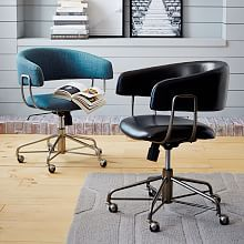 Blue, $399 Home Office Chairs & Modern Home Office Chairs | west elm