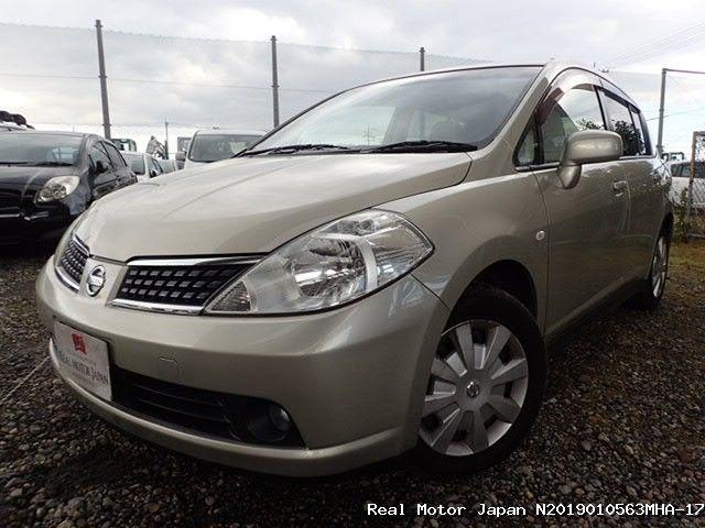 Nissan/TIIDA/2008/N2019010563MHA-17 / Japanese Used Cars   Real