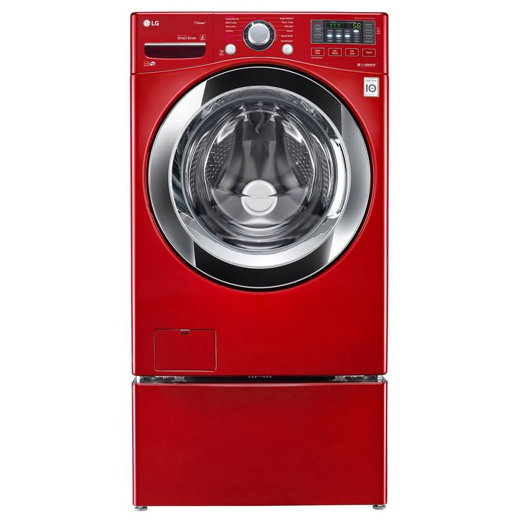 LG WM3670HRA 4.5 cu. ft. Ultra Capacity with Steam Technology in Wild Cherry