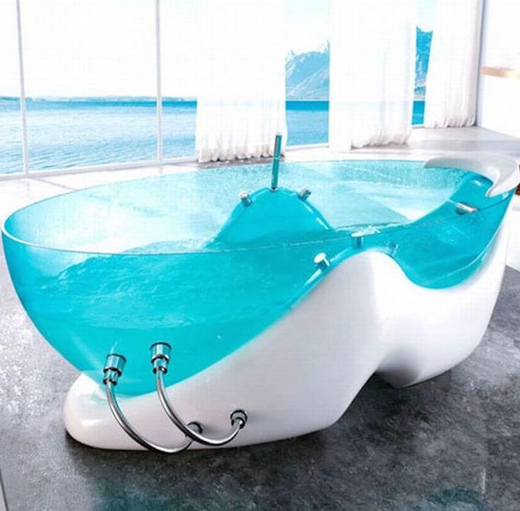 Coming Clean: 15 Of The Coolest Bathtubs Ever!