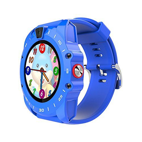 Markrom V19 Wafery Round Kids Smart Watch Phone with SIM GSM TF Card Music Player Silicone Strap 1.3' Touch Screen Pedometer Timer Alarm Clock Health Monitor Camera 29.8  #1 #213,hundredths-inches,189,hundredths-inches,18,hundredths-pounds,67,hundredths-inches #394,hundredths-inches,591,hundredths-inches,40,hundredths-pounds,472,hundredths-inches #Black #Blue #Markrom #Markrom #Markrom...