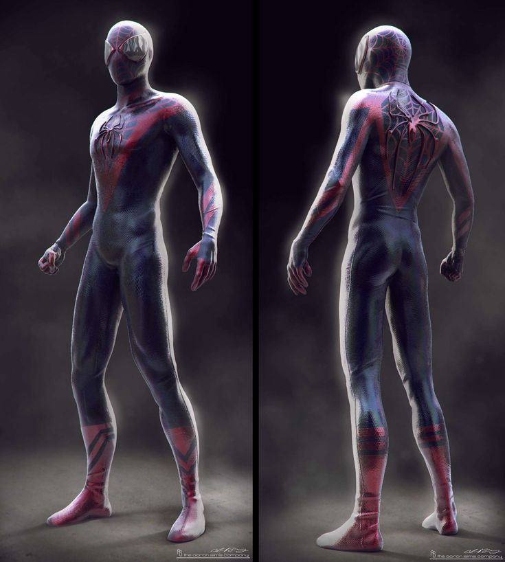[Spider-Man Suit] The Amazing Spider-Man 2. Concepts done ...