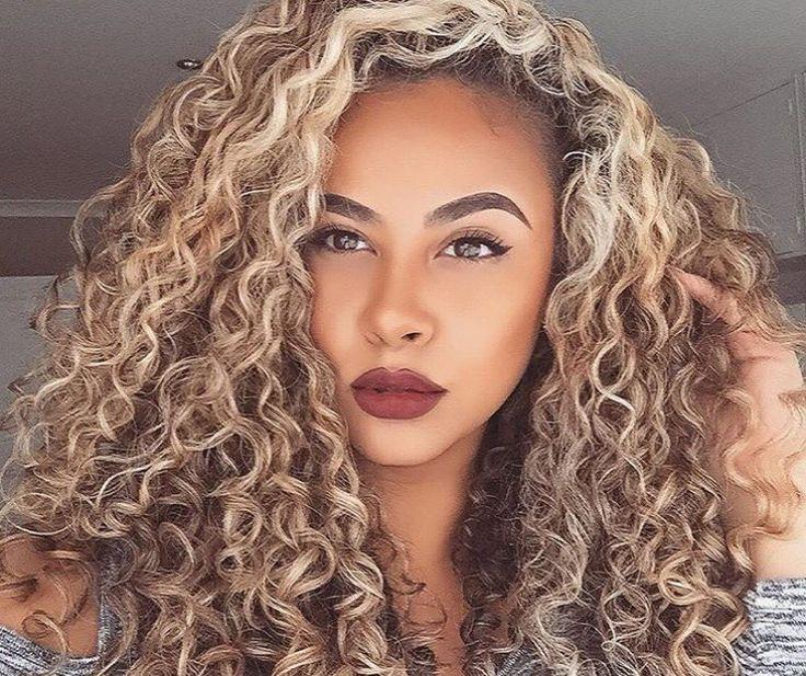 blonde highlights hair inspiration