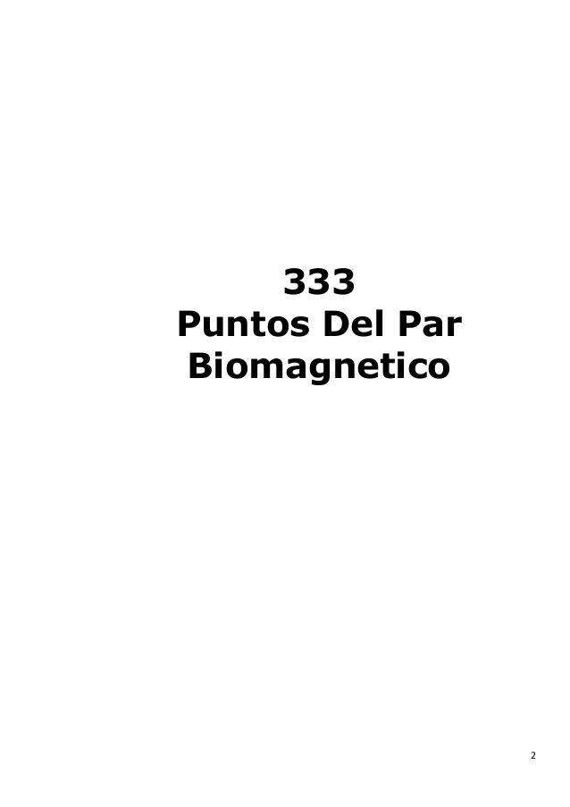 puntos del par biomagnetico