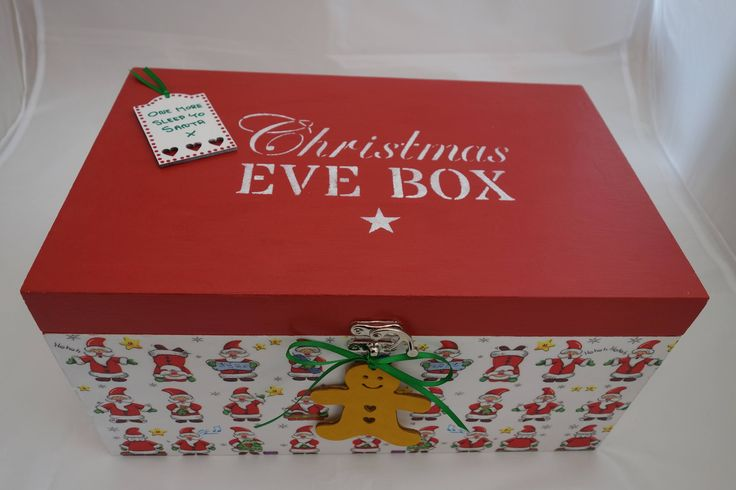 A personal favourite from my Etsy shop https://www.etsy.com/uk/listing/549319816/christmas-eve-box-a-decoupage-and