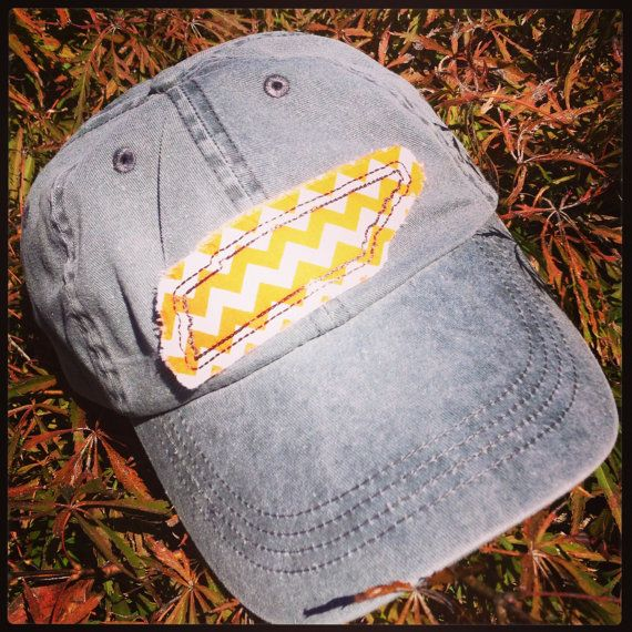 For sarah!! Go Vols!!  Vintage Wash Baseball Hat w/State of by CreeksideHomeGarden, $19.00