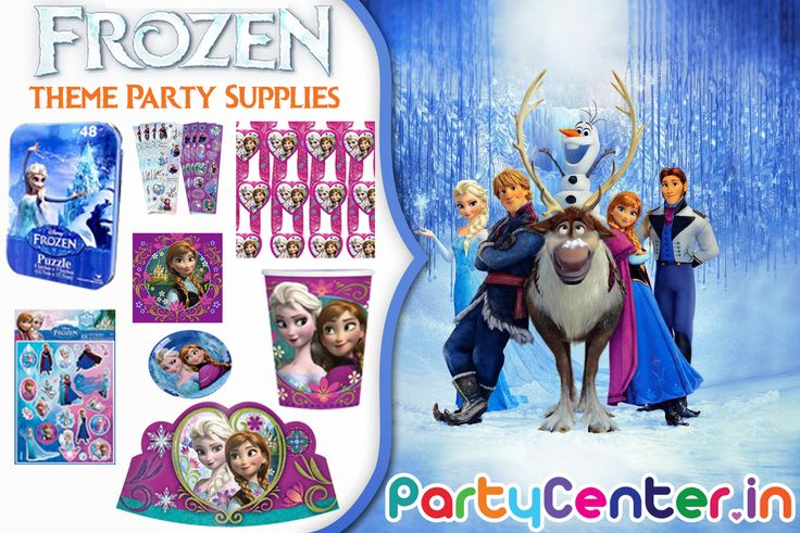 Buy Frozen Party Supplies Only At Partycenter.in