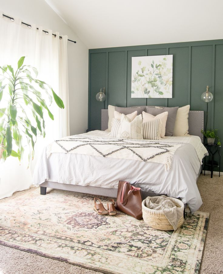3 Tips for Styling Modern Farmhouse Bedding Bedroom