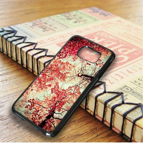 Autumn Leaf Cherry Blossoms Samsung Galaxy S6 Edge Plus Case