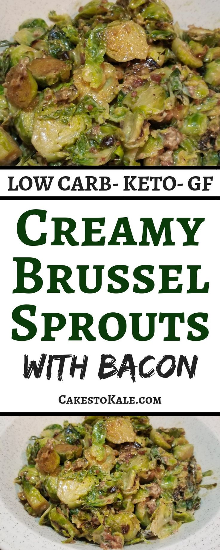 Creamy Brussel Sprouts with Bacon