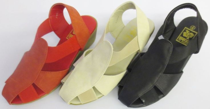 Down To Earth Ladies Wedge Sandals F10428
