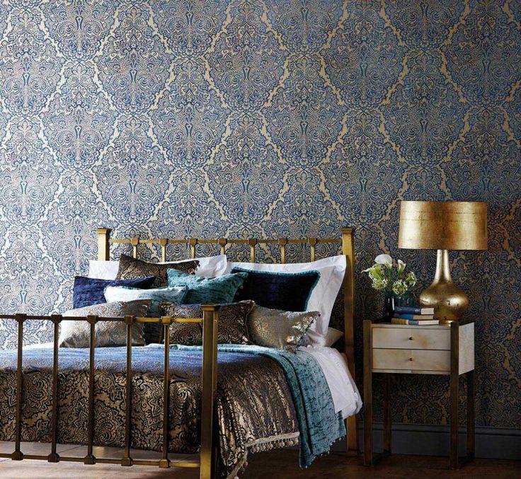 Die besten 25+ Damast wohnzimmer Ideen auf Pinterest Damast - schlafzimmer barock