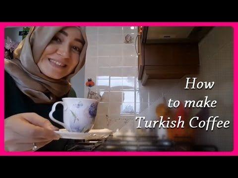 Turkish Coffee - How to make Turkish coffee - Turkish Coffee Recipe