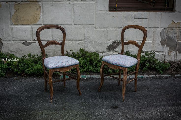 Conjunto sillas restauradas Art&Cake!