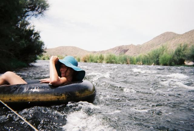 Summer means tubing on the Salt River! Get details, prices, tips and photos of Salt River Tubing, an Arizona tradition.