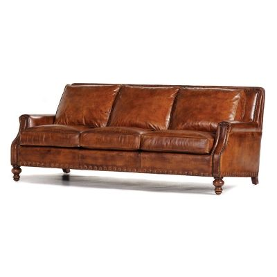 The Lexington Furniture Company Offers A Variety Of Hancock U0026 Moore  Furniture. We Carry The Hancock U0026 Moore Rugby Club Sofa.
