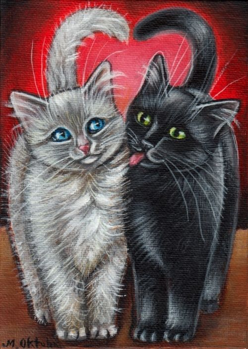540 Best images about Cats Paintings (Art) on Pinterest ...