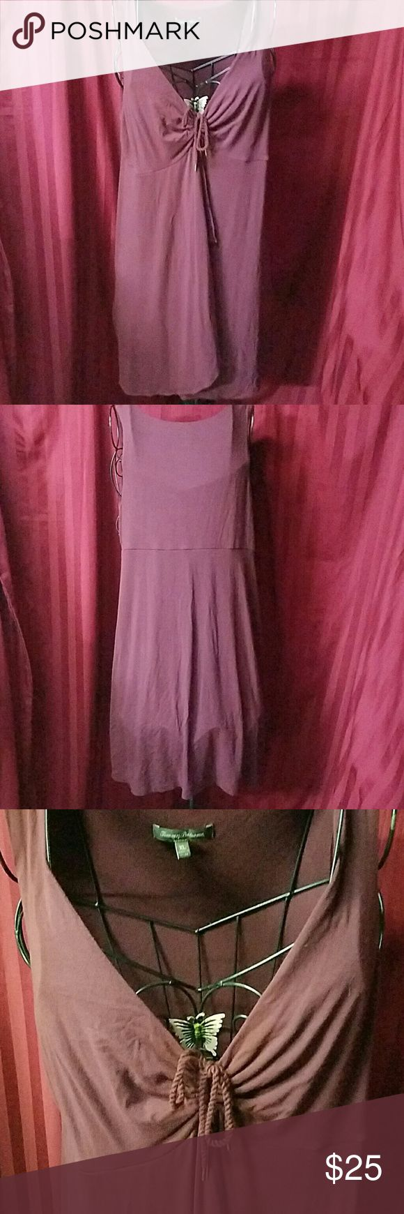 Tommy Bahama plum colored dress Excellent condition Tommy Bahama Dresses