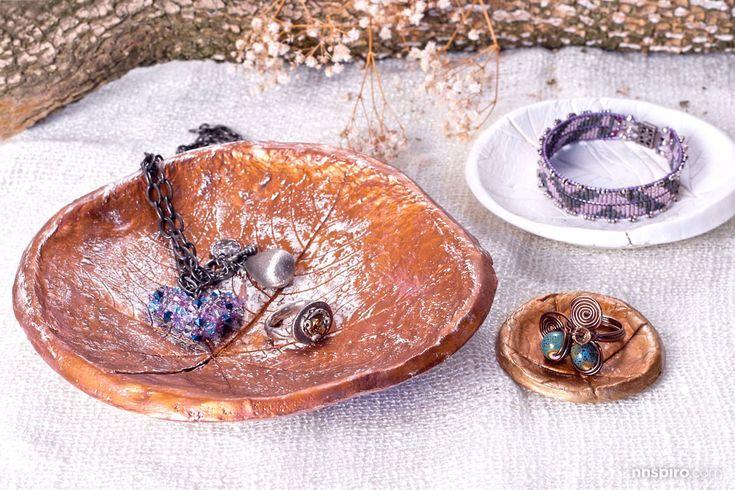 PASO A PASO: JOYERO OTOÑAL. Un otoñal joyero que transportará la naturaleza a nuestro hogar.
