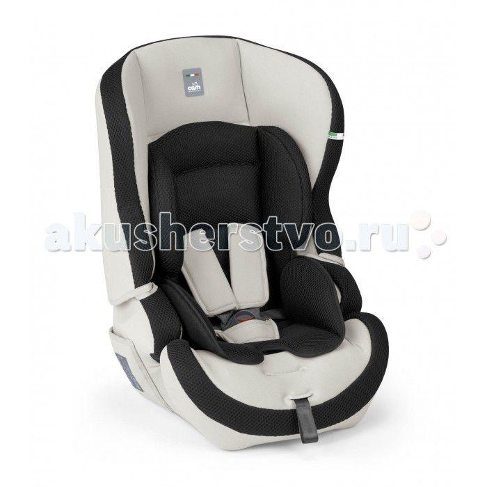 Автокресло CAM Travel Evolution  Автокресло CAM Travel Evolution группы 1/2/3 (предназначено для детей весом от 9 до 36 кг).  Глубокое комфортабельное сиденье с подголовником и ремнями безопасности. Спинка отстегивается, и автокресло превращается в сиденье. Покрытие снимается и стирается при температуре 30 градусов.  Особенности: Защита от боковых ударов Внешние габариты кресла 47 x 46 x 64 см Мягкий подголовник Вкладыш для новорожденного Регулировка наклона спинки Регулировка высоты…