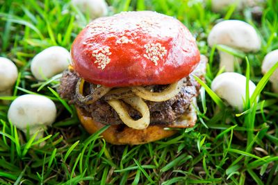 Please vote for this entry in The JBF Blended Burger Project!!