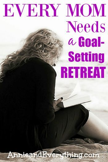 I did something for ME.  I went on a goal setting retreat.  You need to do it, too.  Read to find out why I think it's a must for every mom!  With suggestions for how to make it happen!